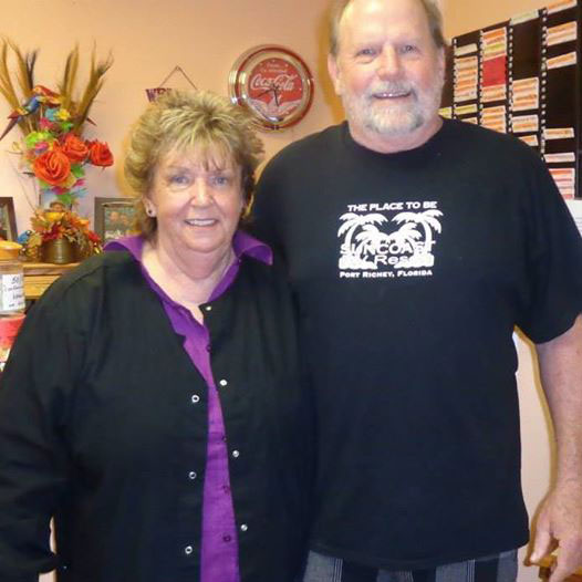 Craig and Carolyn, Suncoast RV Resort Managers